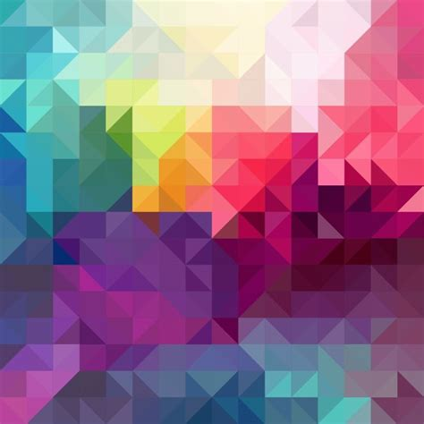 abstract background with colorful triangles vector