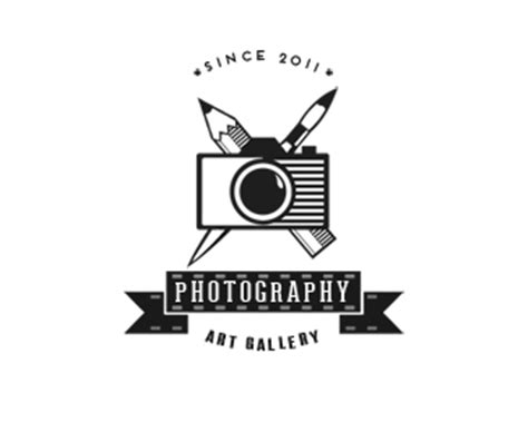 art gallery photography logo