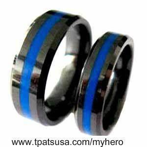 Thin Blue Line Wedding Bands Thin Blue Line Pinterest