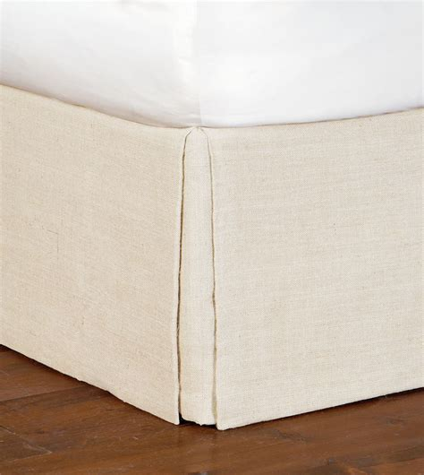 eastern accents eastern accents rustique burlap bed skirt
