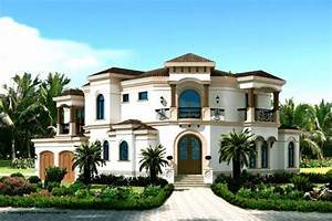Mediterranean Style House Plan - 3 Beds 4 Baths 3337 Sq/Ft ...