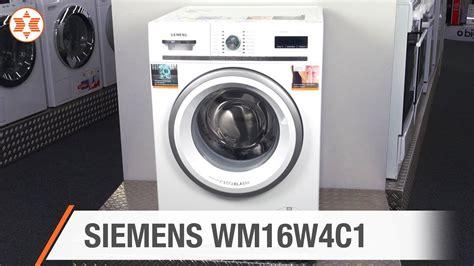 siemens waschmaschine angebot siemens waschmaschine wm16w4c1 jubil 228 ums angebot der woche