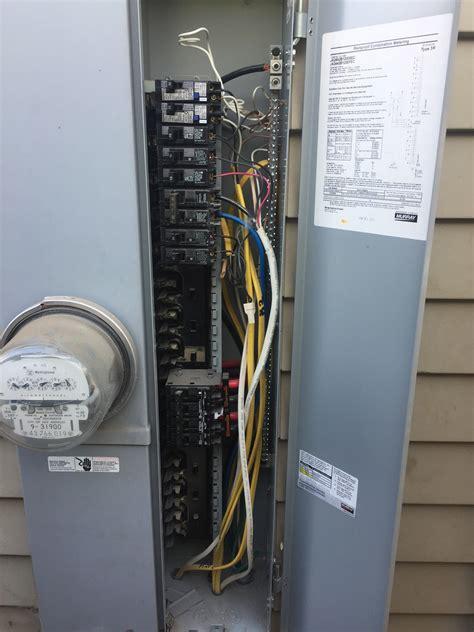 Diy Problem Often Find Circuit Panel Wiring Kilowatt