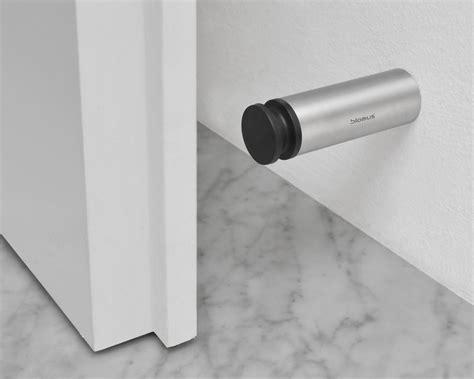 wall mounted door stops and blomus entra door stop wall mounted gr shop canada