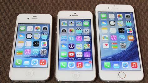 iphone 6 vs iphone 5 iphone 6 size vs iphone 4s and iphone 5 plus new exterior