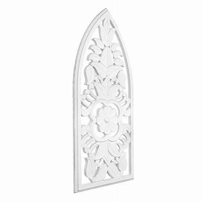 Panel Carved Cathedral American
