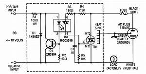 Solid State Relay Circuit - Relay Control