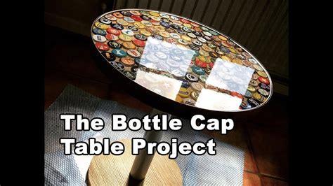 beer cap table epoxy beer bottle cap table tutorial using bottle caps and epoxy