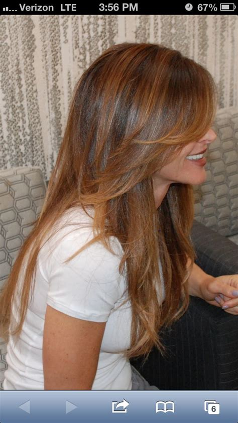 25 best ideas about layered side bangs on pinterest