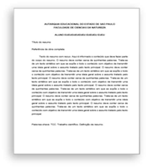 sistema para formatação de trabalhos nas normas abnt