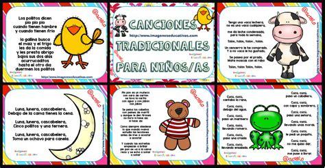 Canciones Tradicionales Para Niños Y Niñas Para Cantar Y