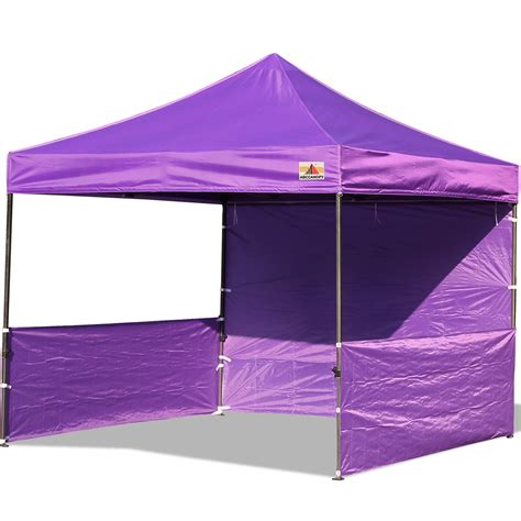 abccanopy deluxe purple pop canopy trade show abccanopy