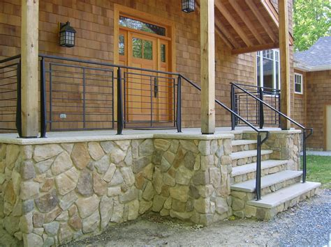 outdoor banister capozzoli stairworks
