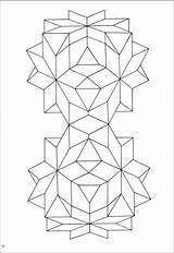Geometric Coloring Pages Star Designs Colouring Pattern Patterns Quilt Adult Adults Shapes Fun Mandala Creative Printable Drawing Islam Rainbowresource Books sketch template