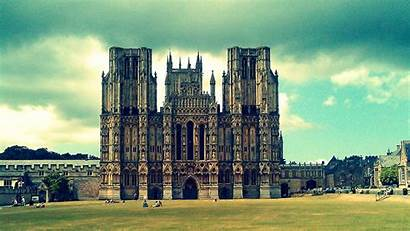 Cathedral Wells Wallpapers Backgrounds Allhdwallpapers Desktop