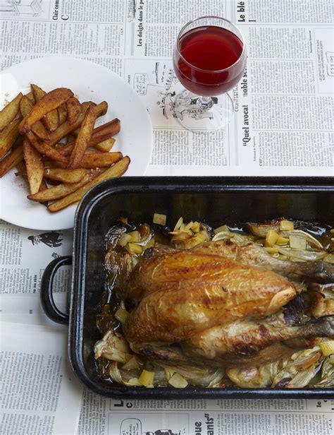 poulet aux citrons confits cuisine notre poulet frites aux citrons confits pour 4 personnes