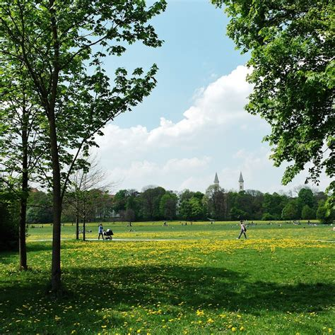 Englischer Garten  München  Creme Guides