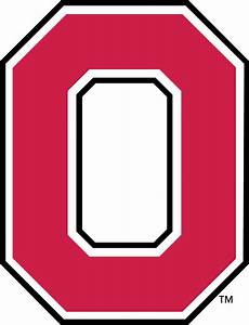the gallery for gt o block With ohio state letter art