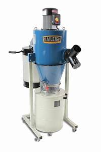 5HP Cyclone Dust Collector DC-3600C Baileigh Industrial