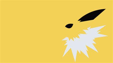 jolteon the lightning pokemon pokemon background wallpapers desktop nexus image