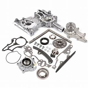 Toyota 22r 22re Timing Chain Kit W   2 Metal Guides Timing