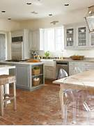 Kitchen Flooring Materials From Ceramic Tile To Hardwood To Stone Transition Flooring On Pinterest Bedroom Design Gold Slate Kitchen Kitchen Flooring Ideas Moreover Kitchen Floor Tile Ideas On 30s Tile With A Mocha Finish Kashmir White Granite And Ulvio Wood Look Tile