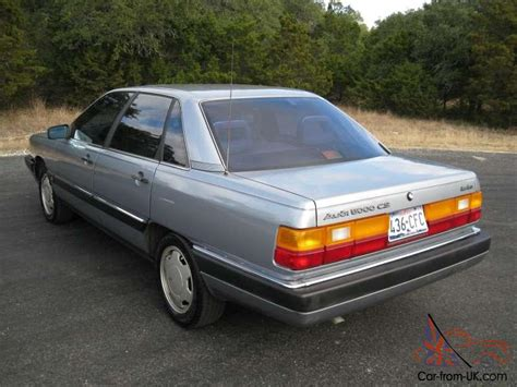 how make cars 1986 audi 5000s engine control 1986 audi 5000 cs turbo all original garage kept must see this is the one