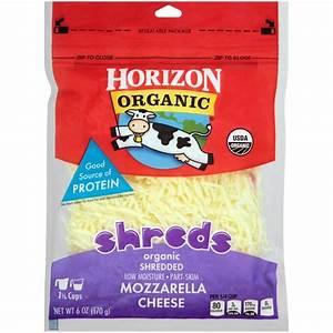Horizon Organic Shreds Shredded Mozzarella Cheese from ...