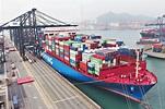世界最大級別貨櫃船 首航泊貨櫃碼頭 - 晴報 - 港聞 - 新聞二條 - D190128