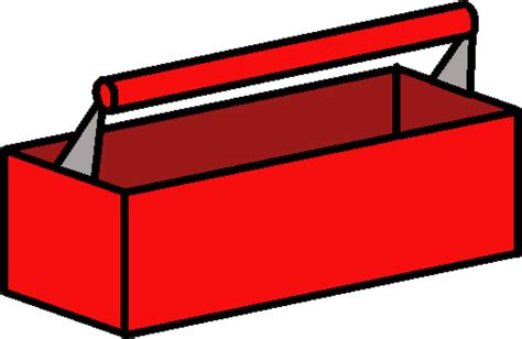 Clip Art For Big Red Tool Boxes Clipart