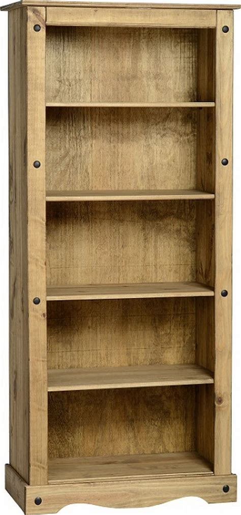Mexican Bookcase by Corona Bookcase 163 104 00 Mexican Pine Corona