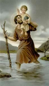 Saint Christophe Patron : st christopher pray for us sacred heart of jesus hear our prayers all saints pinterest ~ Medecine-chirurgie-esthetiques.com Avis de Voitures