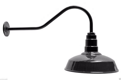 standard barn lighting fixture 14 quot gooseneck agb101 as14