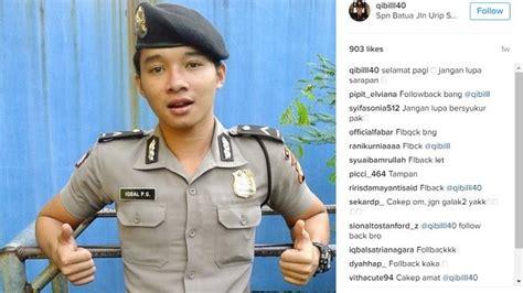 polisi ganteng  hits  instagram  katanya mirip