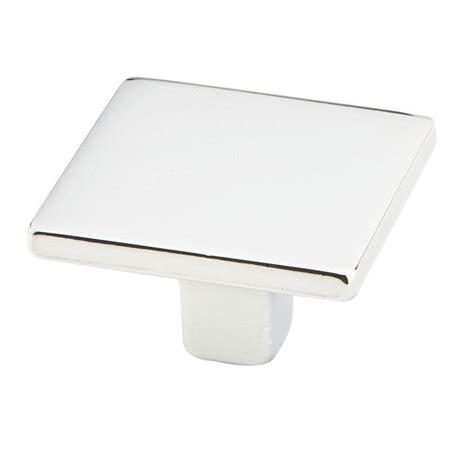 square chrome cabinet knobs knobs4less com offers schaub and company ss 115362 knob
