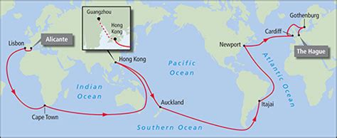volvo ocean race route announced ocean navigator