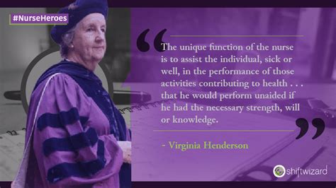 virginia avenel henderson foremost nurse