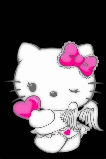 Kitty Hello Angel Demon Wallpapers Fondos Artist