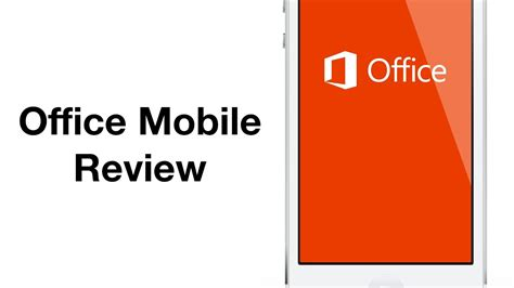 Office 365 Mobile by Review Office Mobile For Office 365 Subscribers