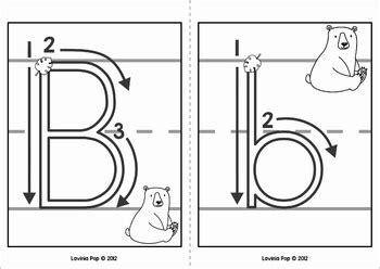 alphabet handwriting cards  directional arrows wild
