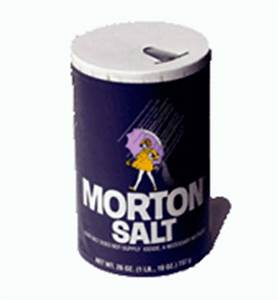 Image Gallery morton salt container