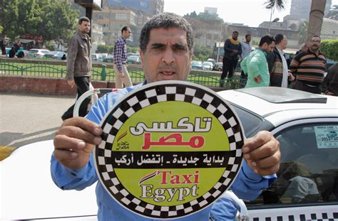 Egypt Taxi Drivers Hold Sit-in Against Uber