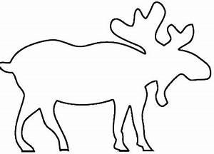 Elch Vorlage Kostenlos : elch malvorlage elch zum ausmalen ~ Lizthompson.info Haus und Dekorationen