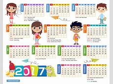 Kalender 2017 Versi Excel dan PDF Darmawan Blog