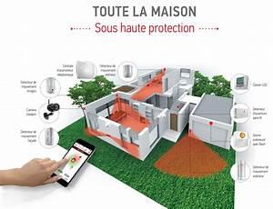 Pack Alarme Somfy : alarme protexial io connect pack maison sy1875144 alarmes ~ Melissatoandfro.com Idées de Décoration
