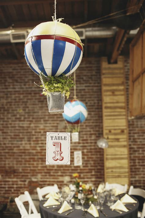 diy balloon table centerpieces 10 table number ideas you can make wedding blog cherryblossoms and faeriewings