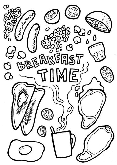 printable card breakfast time dinner invitation digital