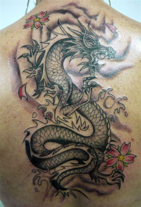 What Does A Chinese Dragon Tattoo Depicting A Man?