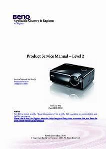 Benq Ms510 Ver00b Level2 Service Manual Download