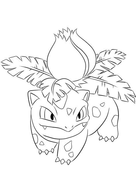 ivysaur  pokemon generation   pokemon coloring pages kids coloring pages